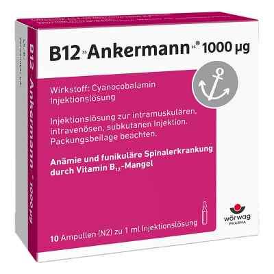 B12 Ankermann 1000 [my]g Ampullen  bei versandapo.de bestellen