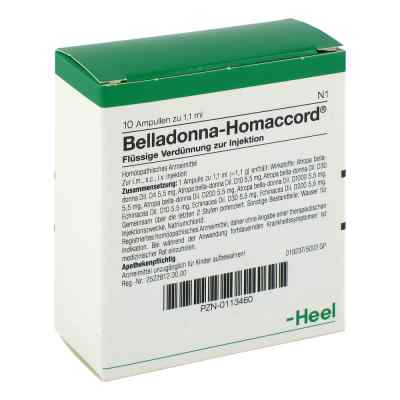 Belladonna Homaccord Ampullen  bei versandapo.de bestellen