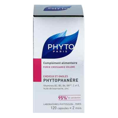 Phytophanere Nahrungsergänzung Haare+nägel Kapseln  bei versandapo.de bestellen