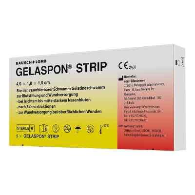 Gelaspon Strip 4x1x1 cm Streifen  bei versandapo.de bestellen