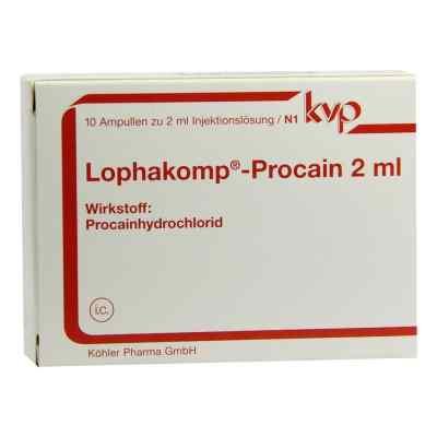 Lophakomp Procain 2 ml Injektionslösung  bei versandapo.de bestellen