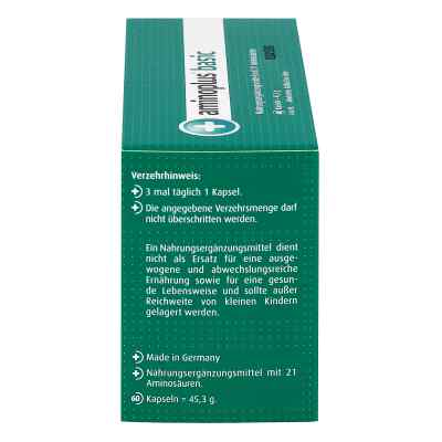 Aminoplus Basic Kapseln  bei versandapo.de bestellen
