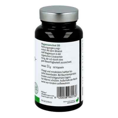 Nicapur Magnesiumcitrat 120 Kapseln  bei versandapo.de bestellen