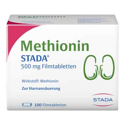 Methionin Stada 500 mg Filmtabletten  bei versandapo.de bestellen
