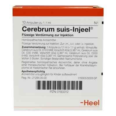 Cerebrum Suis Injeel Ampullen  bei versandapo.de bestellen