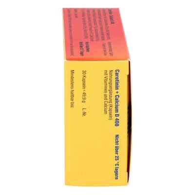Carotinin + Calcium D 400 Kapseln  bei versandapo.de bestellen