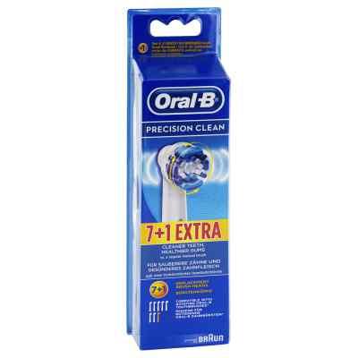 Oral B Aufsteckbürsten Precision Clean 7er+1  bei versandapo.de bestellen