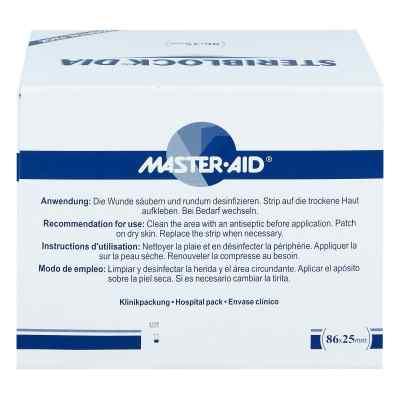 Steriblock Dialyse-pflaster 86x25mm Master Aid  bei versandapo.de bestellen