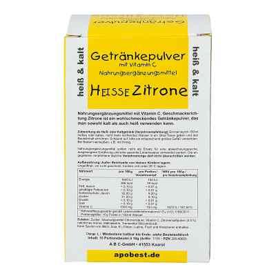 Heisse Zitrone Getränkepulver mit Vitamin C  bei versandapo.de bestellen