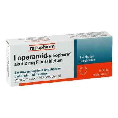 Loperamid-ratiopharm akut 2mg  bei versandapo.de bestellen
