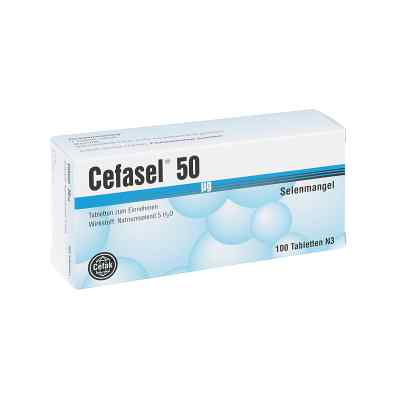 Cefasel 50 [my]g Tabletten  bei versandapo.de bestellen