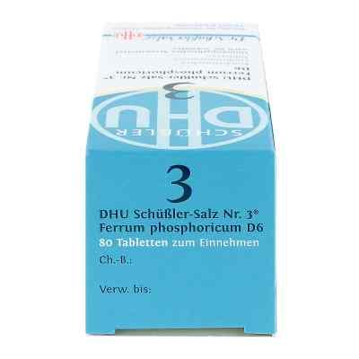 Biochemie Dhu 3 Ferrum Phosphoricum D6 Tabletten  bei versandapo.de bestellen
