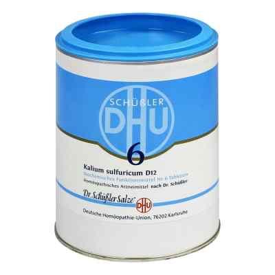 Biochemie Dhu 6 Kalium Sulfur D12 Tabletten  bei versandapo.de bestellen