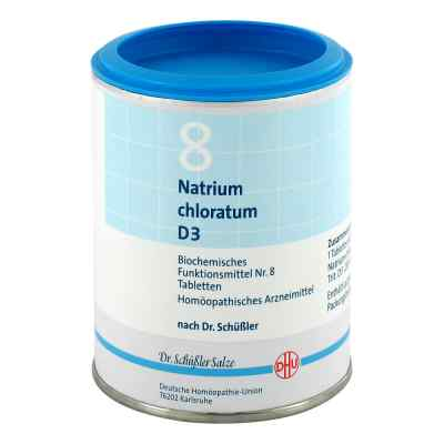 Biochemie Dhu 8 Natrium chlor. D 3 Tabletten  bei versandapo.de bestellen