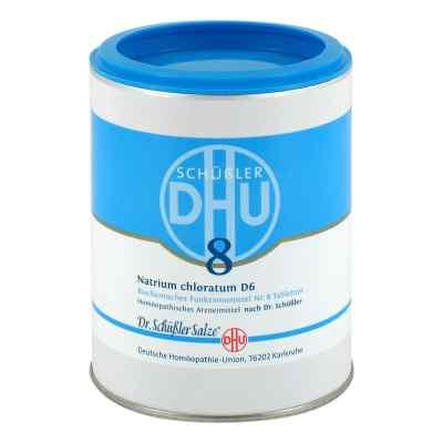 Biochemie Dhu 8 Natrium chlor. D6 Tabletten  bei versandapo.de bestellen