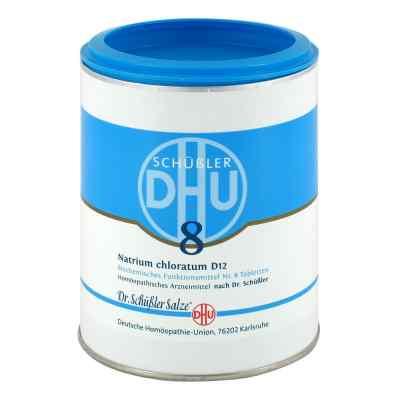 Biochemie Dhu 8 Natrium chlor. D12 Tabletten  bei versandapo.de bestellen