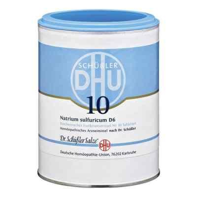 Biochemie Dhu 10 Natrium Sulfur D  6 Tabletten  bei versandapo.de bestellen