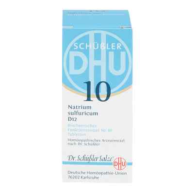 Biochemie Dhu 10 Natrium Sulfur D12 Tabletten  bei versandapo.de bestellen