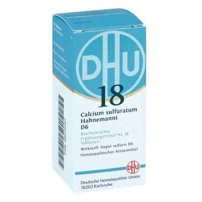 Biochemie Dhu 18 Calcium sulfuratum D6 Tabletten  bei versandapo.de bestellen