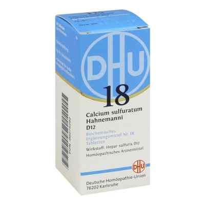 Biochemie Dhu 18 Calcium sulfuratum D12 Tabletten  bei versandapo.de bestellen