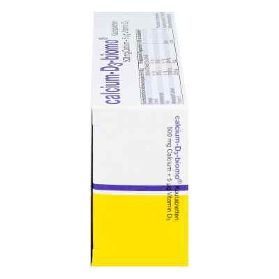 Calcium D3 biomo Kautabletten 500+d  bei versandapo.de bestellen