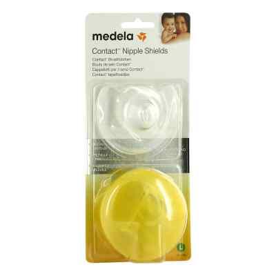Medela Brusthütchen Contact L mit Aufbw.Box  bei versandapo.de bestellen