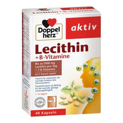 Doppelherz Lecithin + B-vitamine Kapseln  bei versandapo.de bestellen