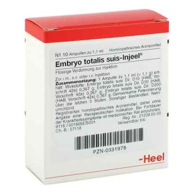 Embryo totalis suis Injeel Ampullen  bei versandapo.de bestellen