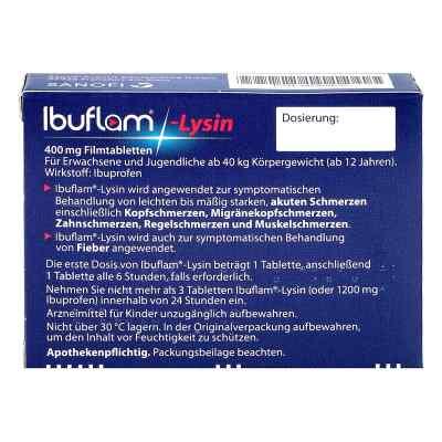 Ibuflam Lysin 400 mg Ibuprofen Schmerztabletten  bei versandapo.de bestellen