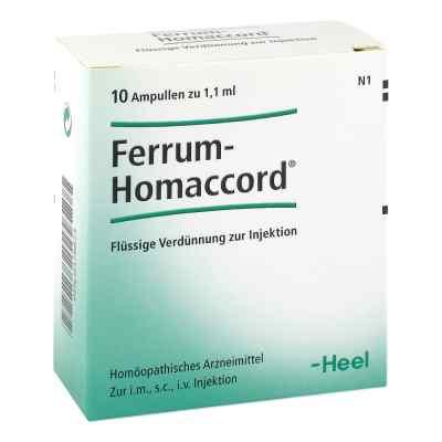 Ferrum Homaccord Ampullen  bei versandapo.de bestellen