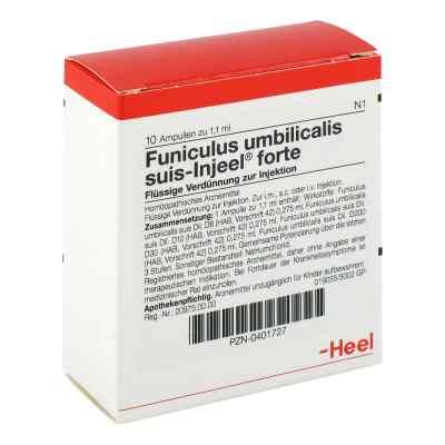 Funiculus Umbilicalis suis Injeel forte Ampullen  bei versandapo.de bestellen