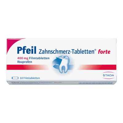 Pfeil Zahnschmerz-Tabletten forte 400mg  bei versandapo.de bestellen