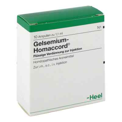 Gelsemium Homaccord Ampullen  bei versandapo.de bestellen