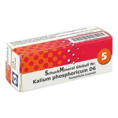 Schuckmineral Globuli 5 Kalium phosphoricum D6  bei versandapo.de bestellen