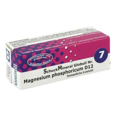 Schuckmineral Globuli 7 Magnesium phosphoricum D12  bei versandapo.de bestellen