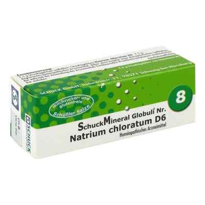 Schuckmineral Globuli 8 Natrium chloratum D6  bei versandapo.de bestellen