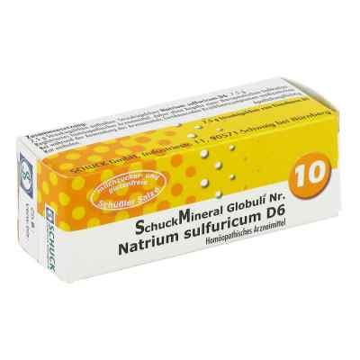Schuckmineral Globuli 10 Natrium sulfuricum D6  bei versandapo.de bestellen