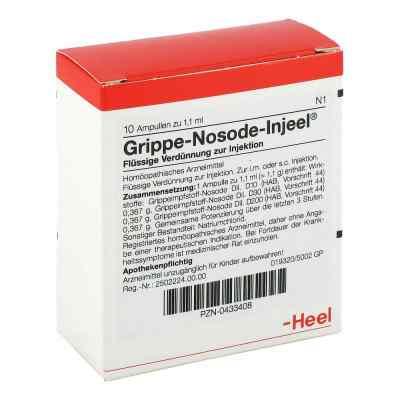 Grippe Nosode Injeel Ampullen  bei versandapo.de bestellen
