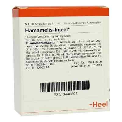 Hamamelis Injeel Ampullen  bei versandapo.de bestellen
