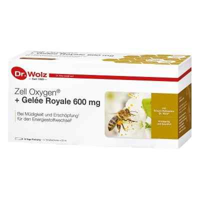 Zell Oxygen + Gelee Royale 600 mg Trinkampullen  bei versandapo.de bestellen