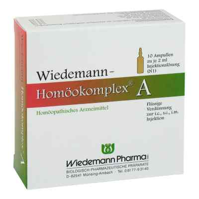 Wiedemann Homöokomplex A Ampullen  bei versandapo.de bestellen