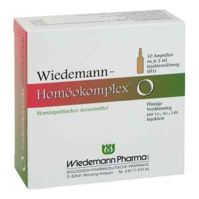 Wiedemann Homöokomplex O Ampullen  bei versandapo.de bestellen