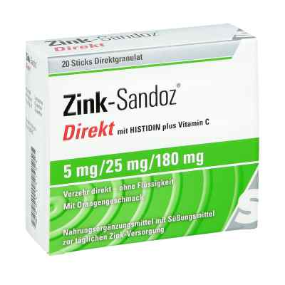 Zink Sandoz Direkt Beutel  bei versandapo.de bestellen