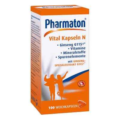 Pharmaton Vital Kapseln N  bei versandapo.de bestellen