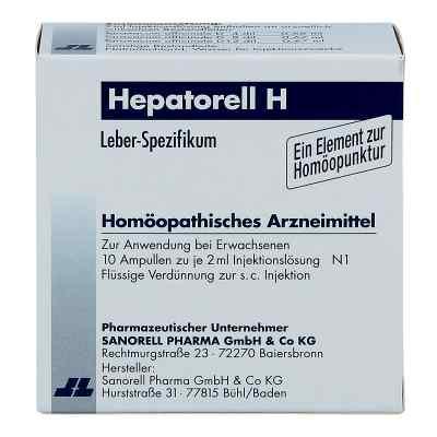 Hepatorell H Ampullen  bei versandapo.de bestellen