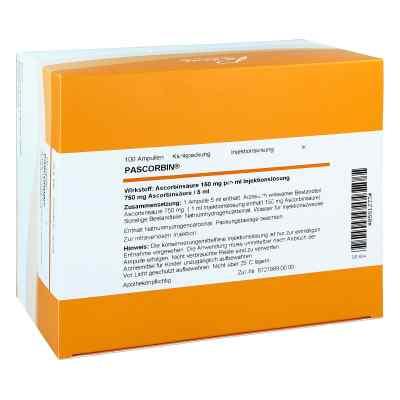 Pascorbin 750 mg Ascorbinsäure/5ml iniecto -lösung  bei versandapo.de bestellen