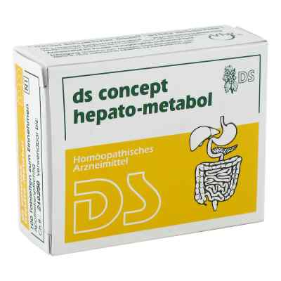 Ds Concept Hepato Metabol Tabletten  bei versandapo.de bestellen
