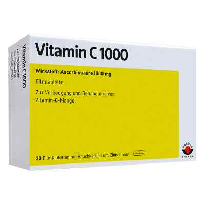 Vitamin C 1000 Filmtabletten  bei versandapo.de bestellen