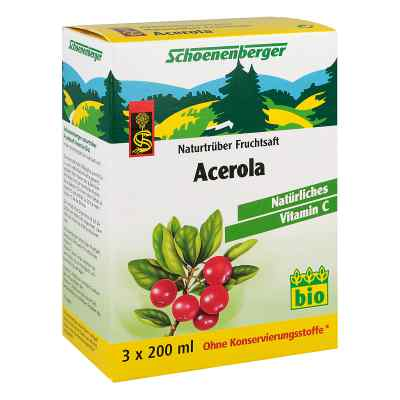 Acerola Saft Schoenenberger Heilpflanzensäfte  bei versandapo.de bestellen