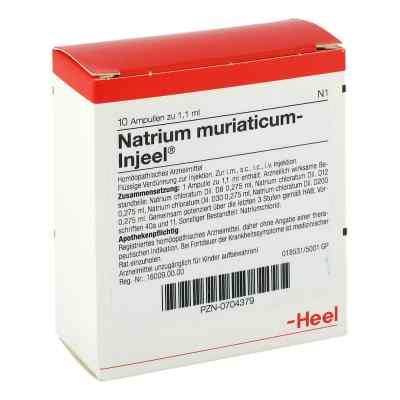 Natrium Muriaticum Injeel Ampullen  bei versandapo.de bestellen